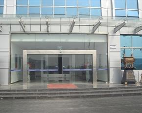 办公楼全玻璃自动感应门