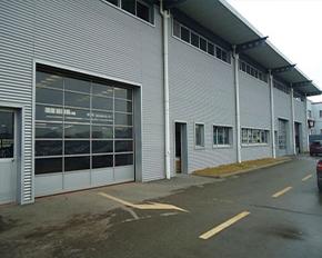 工业厂房透视提升门