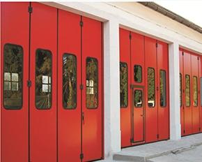 地铁消防折叠门
